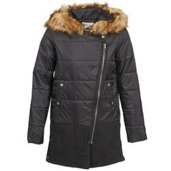 Ruhák Női Steppelt kabátok Chipie EDITHE Fekete