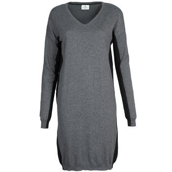 Ruhák Női Rövid ruhák Chipie MONNA Szürke / Fekete