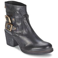 Cipők Női Bokacsizmák Meline LODU Fekete
