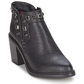 Cipők Női Bokacsizmák Gioseppo MOSENA Fekete