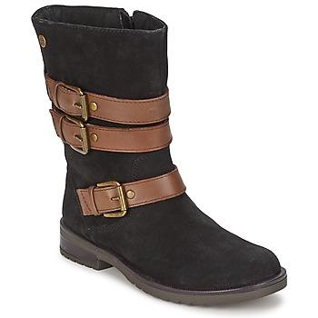 Cipők Lány Városi csizmák Gioseppo HALIFAX Fekete