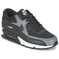 Shoes Női Rövid szárú edzőcipők Nike AIR MAX 90 W Fekete  / Szürke