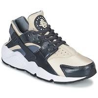 Shoes Női Rövid szárú edzőcipők Nike AIR HUARACHE RUN W Szürke / Bézs