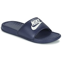 Cipők Férfi strandpapucsok Nike BENASSI JDI Kék / Fehér