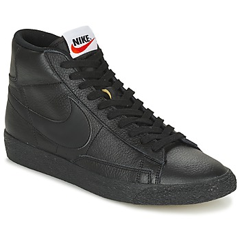 Cipők Férfi Magas szárú edzőcipők Nike BLAZER MID Fekete
