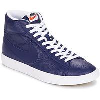 Cipők Férfi Magas szárú edzőcipők Nike BLAZER MID Kék