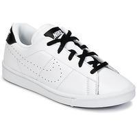 Shoes Fiú Rövid szárú edzőcipők Nike TENNIS CLASSIC PREMIUM PRESCHOOL Fehér / Fekete