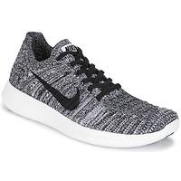 Shoes Női Futócipők Nike FREE RUN FLYKNIT W Fehér / Fekete