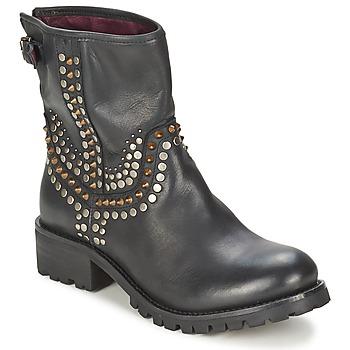 Cipők Női Csizmák Ikks SEATTLE-PREMIUM Fekete