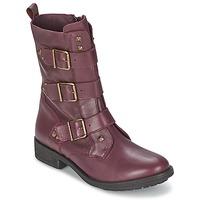 Shoes Női Csizmák Ikks RANGER-COLLECTOR-BOUCLE Bordó