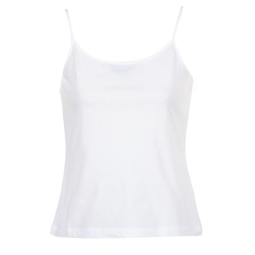 Ruhák Női Trikók / Ujjatlan pólók BOTD FAGALOTTE Fehér