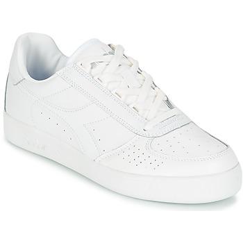 Cipők Rövid szárú edzőcipők Diadora B.ELITE Fehér