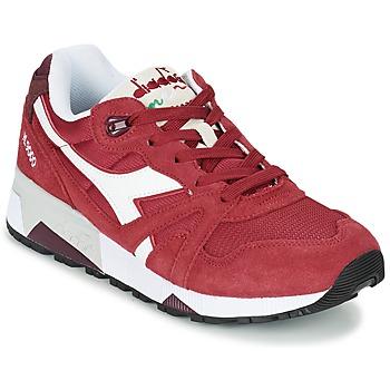 Cipők Rövid szárú edzőcipők Diadora N9000 III Piros