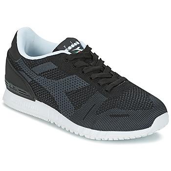 Cipők Rövid szárú edzőcipők Diadora TITAN WEAVE Fekete