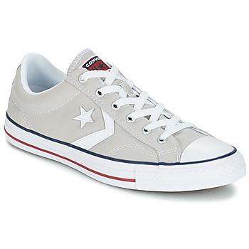 Shoes Rövid szárú edzőcipők Converse STAR PLAYER CORE CANVAS OX Szürke / Tiszta / Fehér
