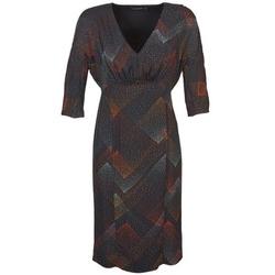 Ruhák Női Rövid ruhák Antik Batik ORION Fekete