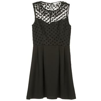 Ruhák Női Rövid ruhák Brigitte Bardot BB45057 Fekete
