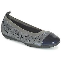 Cipők Lány Balerina cipők / babák Geox JR PIUMA BALLERINE Szürke / Sötét