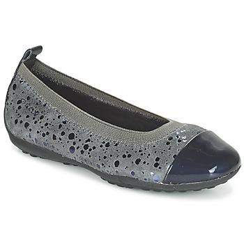 Cipők Lány Balerina cipők  Geox JR PIUMA BALLERINE Szürke / Sötét
