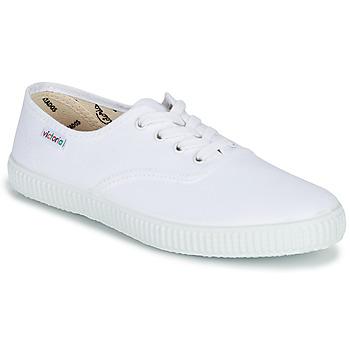 Cipők Rövid szárú edzőcipők Victoria INGLESA LONA Fehér