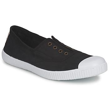 Cipők Női Rövid szárú edzőcipők Victoria 6623 Fekete