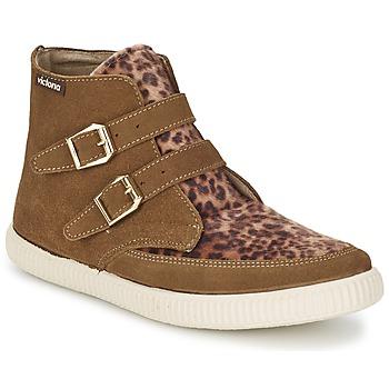 Cipők Női Magas szárú edzőcipők Victoria 16706 Barna