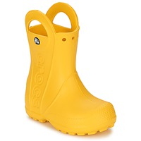 Cipők Gyerek Gumicsizmák Crocs HANDLE IT RAIN BOOT KIDS Citromsárga