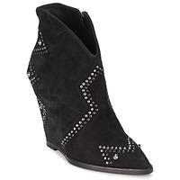 Cipők Női Bokacsizmák Ash JESSICA Fekete
