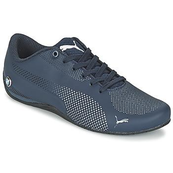 Shoes Férfi Rövid szárú edzőcipők Puma BMW MS DRIFT CAT EVO 5 MU Kék