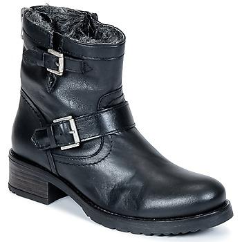 Cipők Női Csizmák Buffalo ES-30493-MEXICO Fekete
