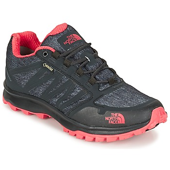 Shoes Női Túracipők The North Face LITEWAVE FASTPACK GORETEX Fekete  / Korall