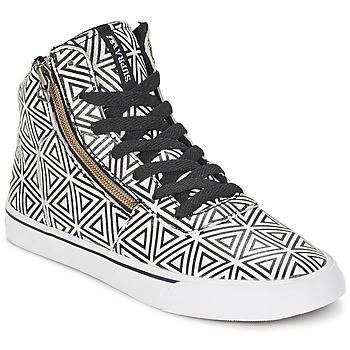 Cipők Női Magas szárú edzőcipők Supra CUTTLER Fehér / Fekete