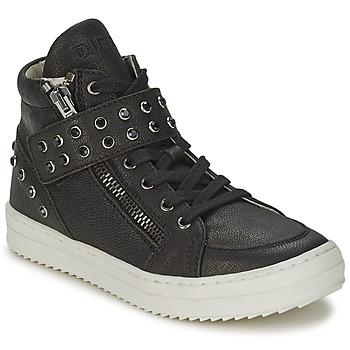 Cipők Lány Magas szárú edzőcipők Diesel TREVOR Fekete