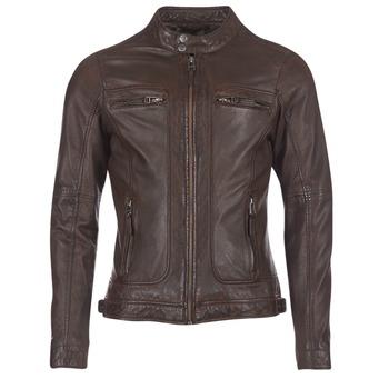 material Férfi Bőrkabátok Oakwood 60901 Barna