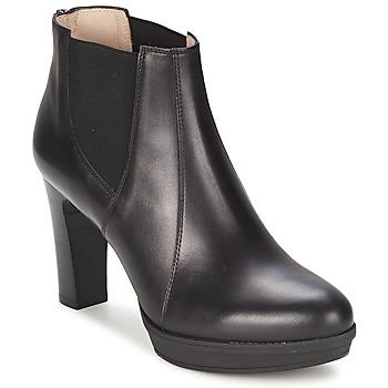 Cipők Női Bokacsizmák Unisa MIJAL Fekete