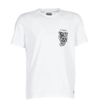 material Férfi Rövid ujjú pólók Element ATTACK SS Fehér