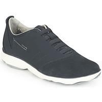 Shoes Férfi Rövid szárú edzőcipők Geox NEBULA Kék