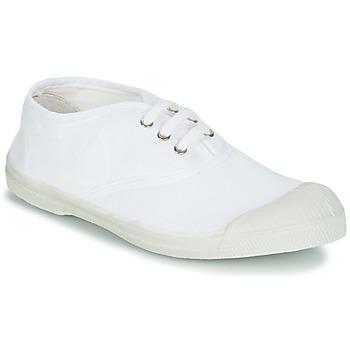 Cipők Gyerek Rövid szárú edzőcipők Bensimon TENNIS LACET Fehér