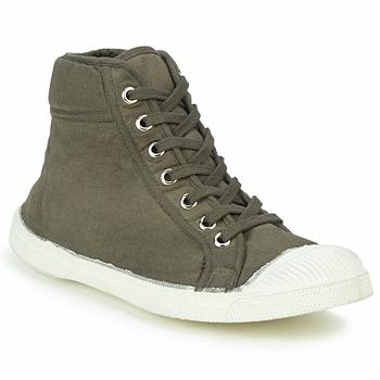 Cipők Magas szárú edzőcipők Bensimon TENNIS MID Tópszínű