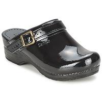 Cipők Női Klumpák Sanita FREYA Fekete