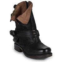 Cipők Női Csizmák Airstep / A.S.98 SAINT BIKE Fekete