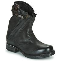 Cipők Női Csizmák Airstep / A.S.98 SAINT METAL ZIP Fekete