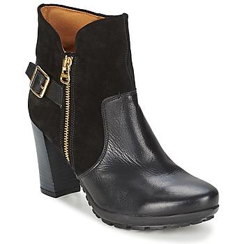 Cipők Női Bokacsizmák Hispanitas ARIZONA Fekete