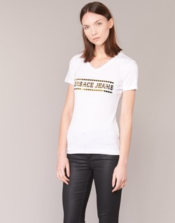 material Női Rövid ujjú pólók Versace Jeans B2HPA7GC Fehér