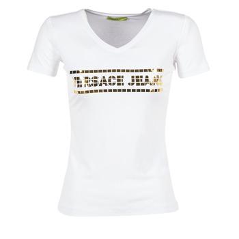 Ruhák Női Rövid ujjú pólók Versace Jeans B2HPA7GC Fehér