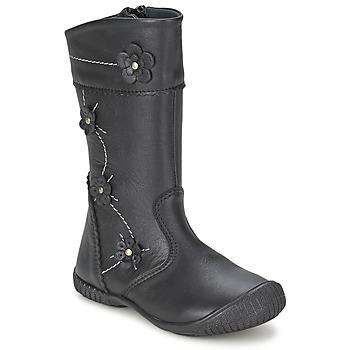 Cipők Lány Városi csizmák Citrouille et Compagnie AMATIS Fekete