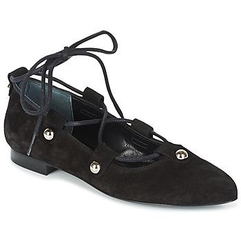 Cipők Női Balerina cipők / babák Sonia Rykiel 622107 Fekete