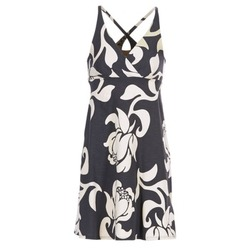 material Női Rövid ruhák Patagonia AMBER Fekete  / Fehér