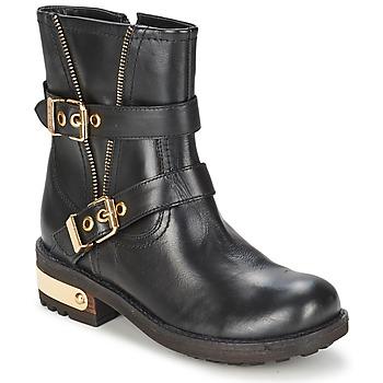 Cipők Női Csizmák Elle RASPAIL Fekete