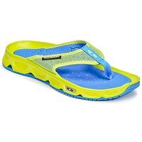 Cipők Férfi Lábujjközös papucsok Salomon RX BREAK Citromsárga / Kék